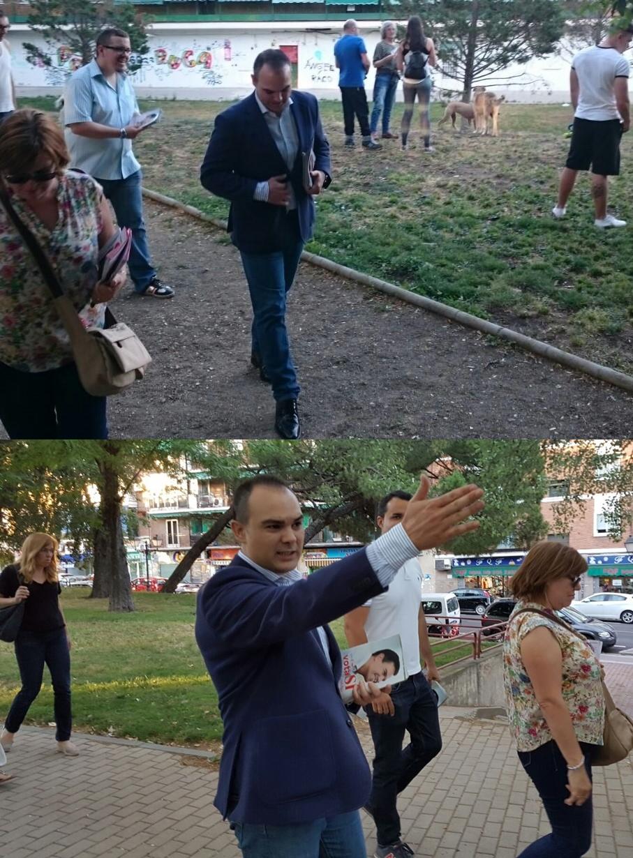 Julian Galan PSOE 1