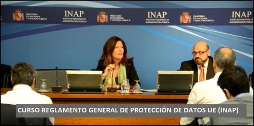 FOTO CURSO REGLAMENTO GENERAL DE PROTECCIÓN DE DATOS UE (RGPD) 1
